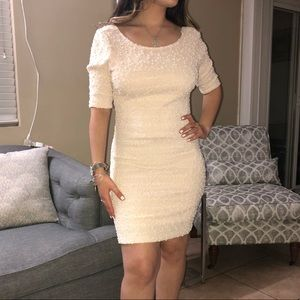 Forever 21 off white mini dress